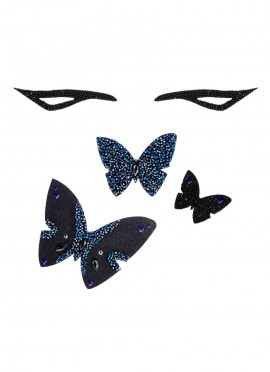 Coffret - L'envolée de papillons - Perles de Swarovski