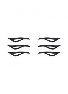 Rock my eyes - black Tattoo