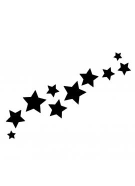 Envolée d'étoiles